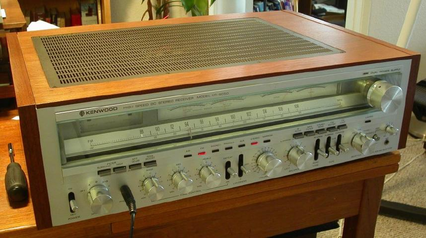 Old kenwood amplifiers